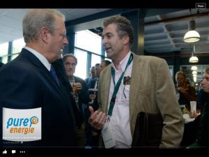 meet&greet met Al Gore