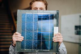 Een stuk solaroad