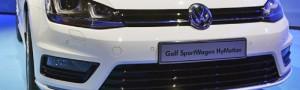 Waterstofgas auto's van Volkswagen