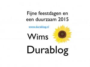 Duurzame wensen voor 2015