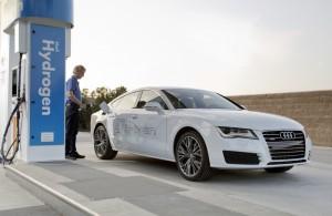 De waterstofgas auto van Audi