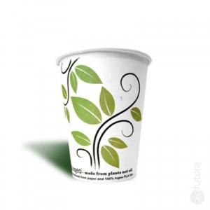 Biologisch afbreekbare koffiebeker