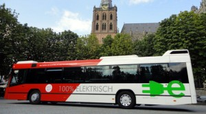 Amsterdam vol met elektrische bussen
