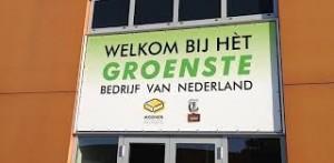 Uitgeroepen tot het groenste bedrijf van Nederland