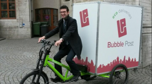 Ecotransport Bubblepost
