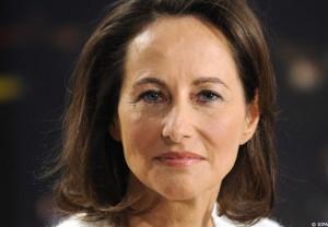 De Franse minister Segolene Royal