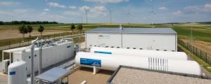 Siemens Power2gas installatie