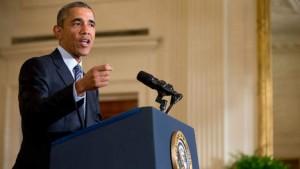 © ap. President Obama doet zijn Clean Power Plan uit de doeken