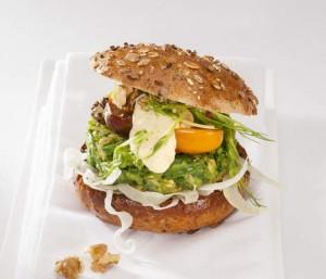 de gezonde en lekkere groenteburger