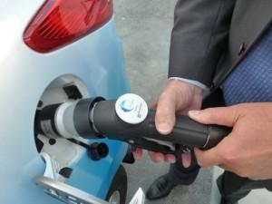 Waterstofgas tanken
