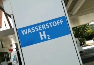 Waterstofgas tankstations