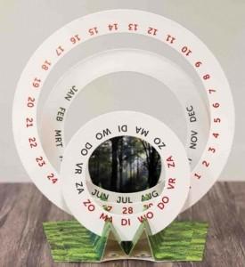 De duurzame FSC kalender