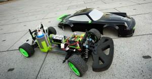 het prototype van de Mierenzuur brandstofcel auto
